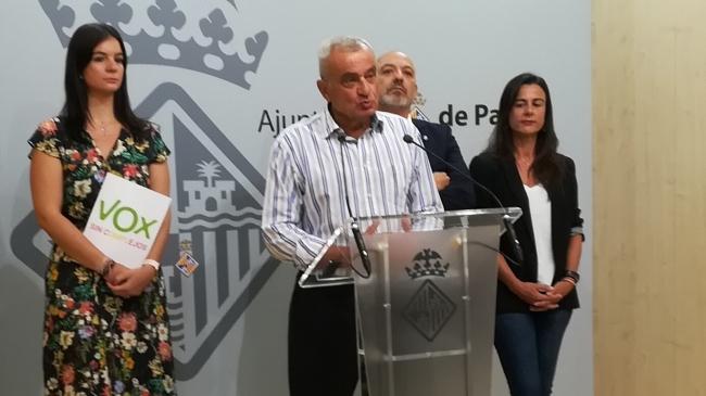 """VOX exige al alcalde de Palma el cese de la regidora Sonia Vivas (Podemos) por sus declaraciones """"indignas e irresponsables"""""""
