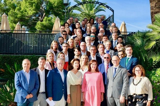 La presidenta Armengol asiste a la reunión del patronato Impulsa, que celebra cinco años de su creación
