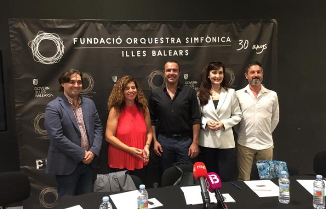 La Orquestra Simfònica de les Illes Baleares celebra el 30º aniversario con un concierto extraordinario