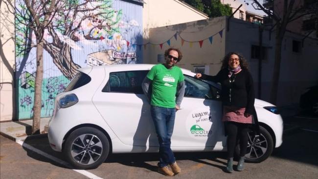 La Fundació Deixalles compartirá la movilidad eléctrica con Ecotxe