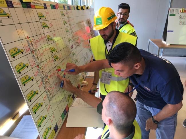 Profesionales sanitarios, de emergencias y de cuerpos de seguridad participan en un curso internacional de respuesta en caso de catástrofe