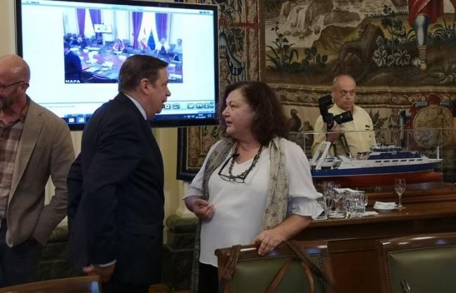 Agricultura reclama en Madrid que se tenga en cuenta la insularidad de Balears en la futura PAC