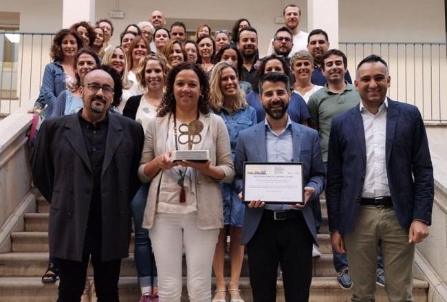 El área de Personas con Discapacidad e Innovación Social del IMAS premiada por la confederación Plena Inclusión
