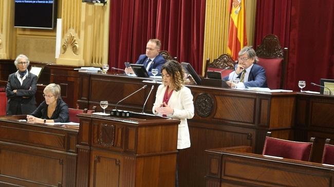 El pleno del Parlament ratifica el techo de gasto no financiero de la Comunidad Autónoma para 2020