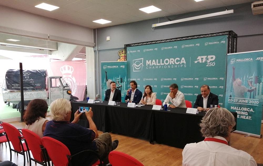 El Govern colaborará en la organización del torneo de tenis ATP Mallorca Championships