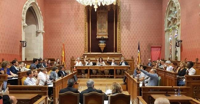 El Consell de Mallorca aprueba la declaración de estado de emergencia climática en la isla