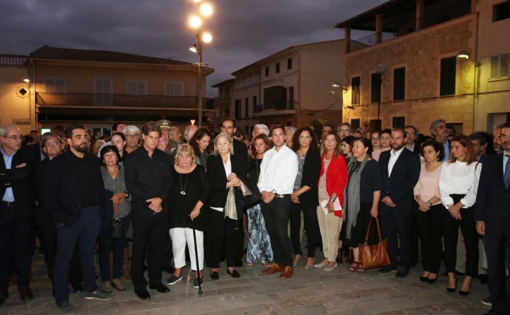 Homenaje en recuerdo de las víctimas de la torrentada del Llevant de Mallorca