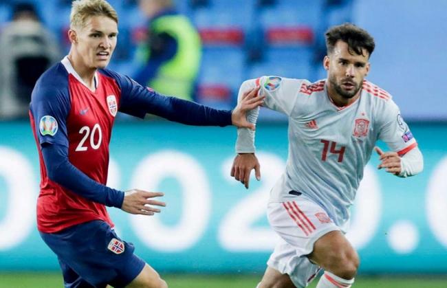 Noruega empata con España 1 a 1