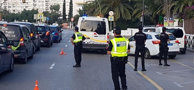 12 positivos por estupefacientes y 5 positivos en alcoholemias en los controles efectuados en Ibiza