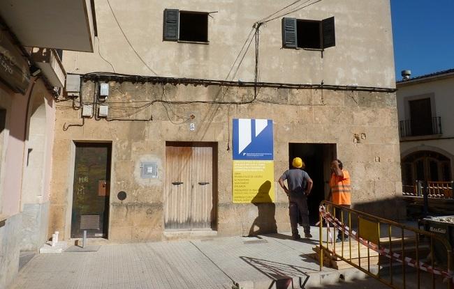 Algaida rehabilita el edificio de la Pescadería gracias a una subvención de 91.800 € del Consell