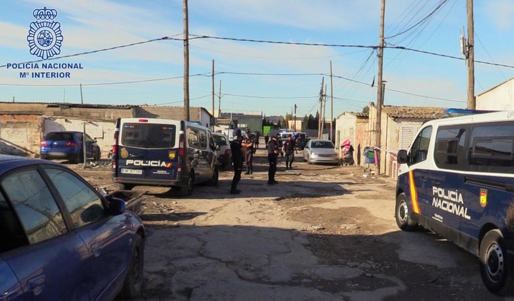 La Policía Nacional ha realizado un operativo en Son Banya