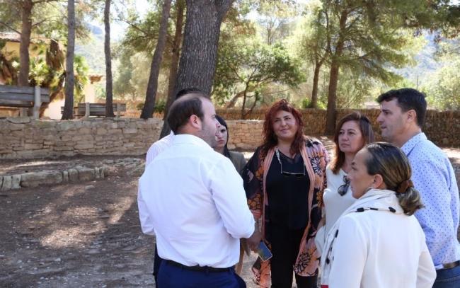 Armengol visita a la finca de Es Canons en Artà, adquirida con fondos del Impuesto de Turismo Sostenible