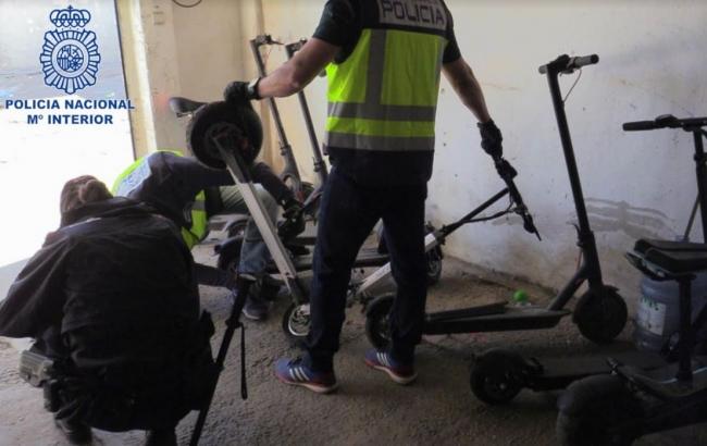 La Policía Nacional desmantela dos puntos de venta de drogas en Son Banya