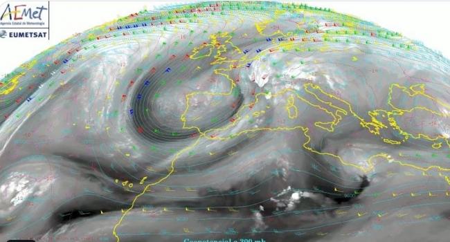 Hoy, lunes, precipitaciones 'muy fuertes y persistentes' en Baleares