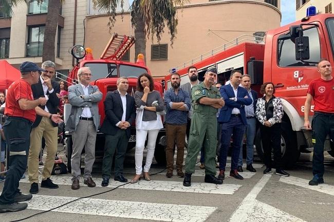 Los Bombers de Mallorca participan en el 9º Encuentro de Cuerpos de Emergencias