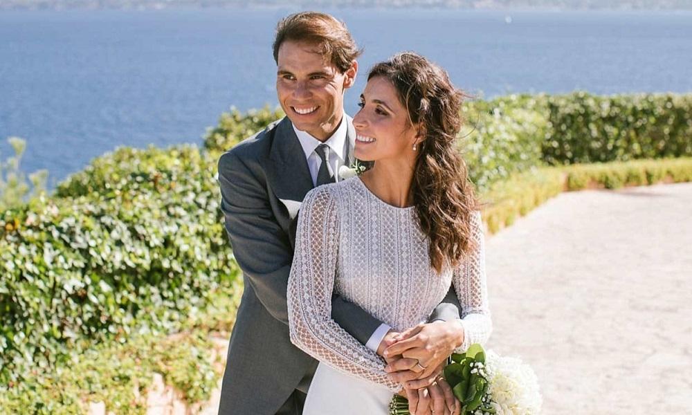 Primeras imágenes oficiales de la boda de Rafa Nadal y Maria Francisca Perelló