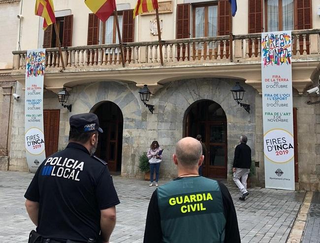 La Guardia Civil y la Policía Local de Inca detienen a un joven por el robo en una vivienda de esa localidad