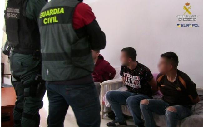 Desarticulado un grupo criminal de origen albanés que robaba en las casas de futbolistas