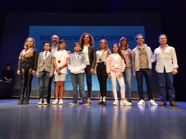 El Consell reconoce el mérito de 172 jóvenes deportistas y personal técnico de dieciséis federaciones