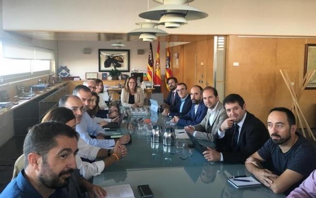 Red Eléctrica-Endesa y Govern se reúnen para valorar la posibilidad de instalar generadores en Menorca