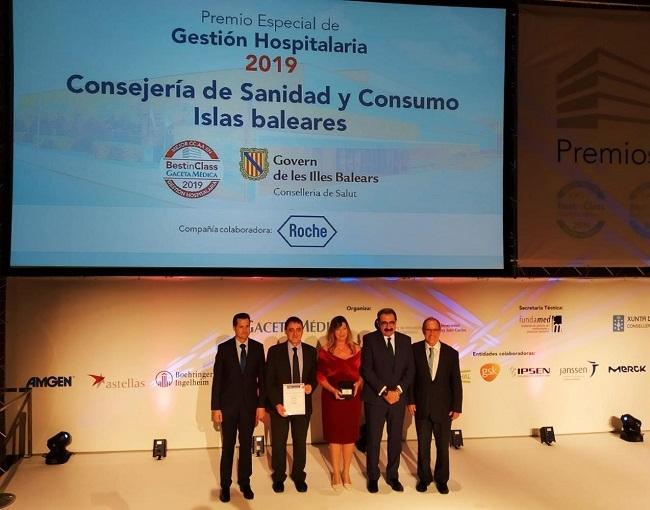 La conselleria de Salud y Consumo, ganadora del premio Best in Class 2019 a la Mejor Gestión Hospitalaria