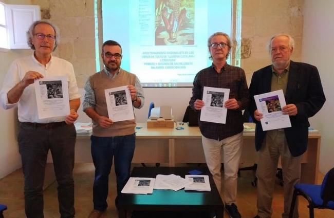 Societat Civil Balear presenta un detallado informe sobre el adoctrinamiento de los libros de lengua y literatura de bachillerato de Baleares
