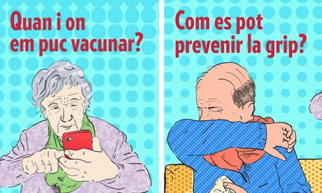 Campaña 'Cuando la gripe se complica, tiene consecuencias graves'