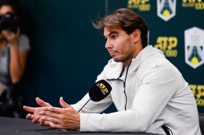 Rafael Nadal se retira de la semifinal del Masters de París: 'Espero estar listo para Londres'