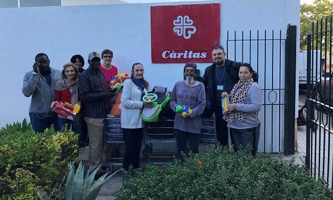 EMAYA entrega a Cáritas Mallorca 150 kg de juguetes