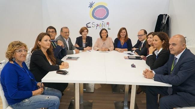La ministra de Industria y Armengol, detallan los 8 millones de inversión estatal en Baleares tras la quiebra de Thomas Cook