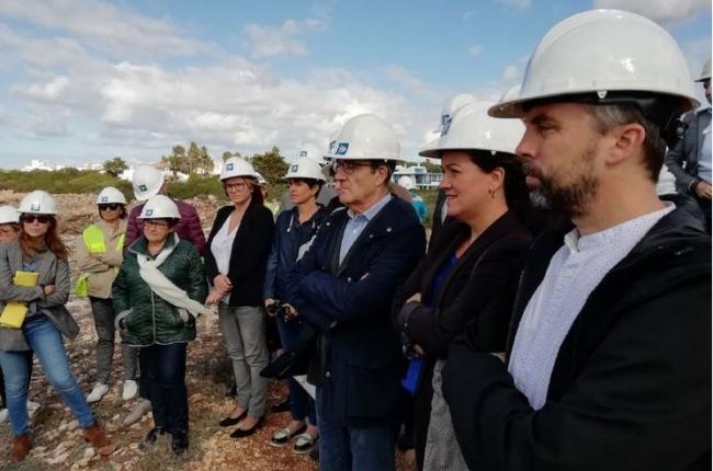 Comencen les obres d'estesa submarina del cable entre Menorca i Mallorca
