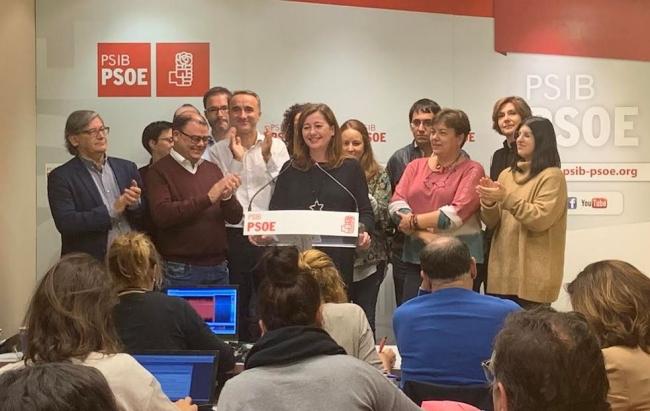 El PSIB-PSOE muestra su satisfacción por haber ganado otra vez en Baleares
