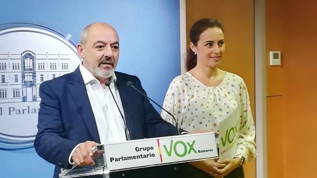 """Vox: """"estas elecciones son un baño de realidad para Armengol, el separatismo no tiene cabida en Baleares"""""""