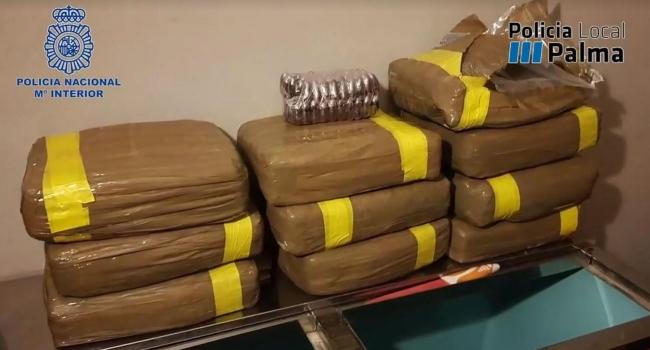 Golpe al tráfico de drogas a gran escala en Mallorca