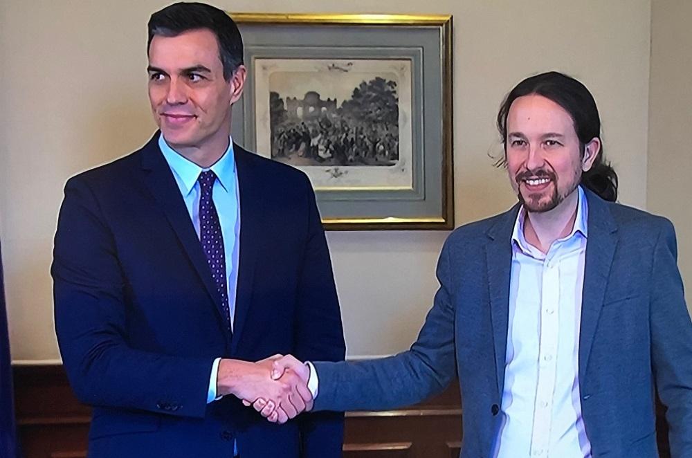 PSOE y Unidas Podemos ha alcanzado un preacuerdo para un gobierno de coalición