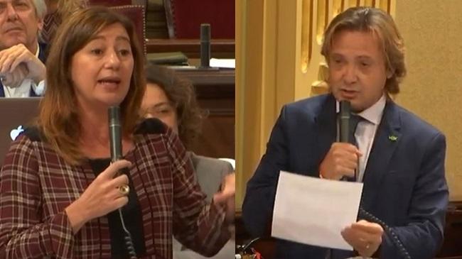 """Campos a Armengol: """"No son nuestros votantes los que fabrican explosivos y cortan carreteras sino sus socios"""""""