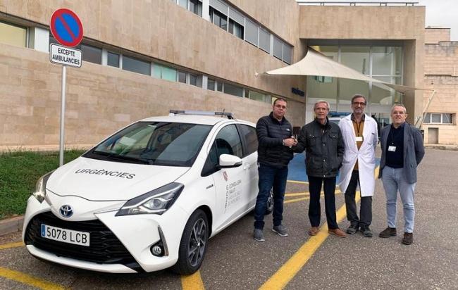 El Área de Salud de Menorca renueva el vehículo del SUAP del centro de salud Canal Salat