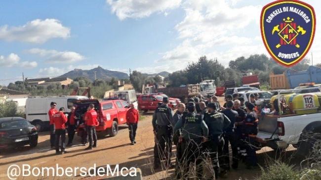 La Policía Nacional junto con Policía Local y Bomberos localizan a una persona que se encontraba desaparecida