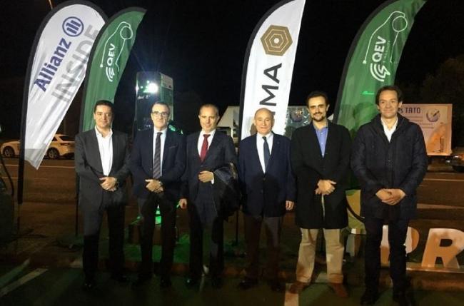 Se pone en funcionamiento la primera electrolinera de las Islas Baleares