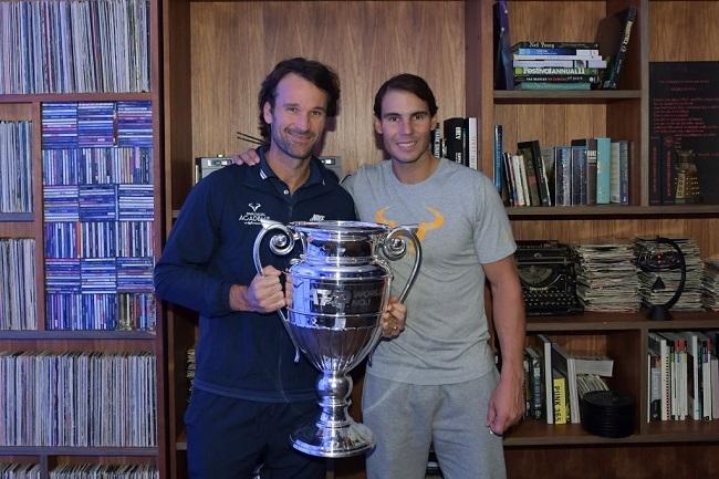 Nadal queda fuera de la Copa Masters por la victoria de Zverev sobre Medvedev