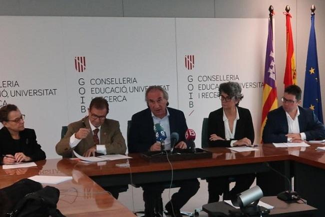La aportación económica de la Conselleria de cultura a la UIB para el 2020 aumenta un 1,2%