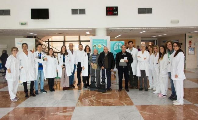Son Llàtzer atiende a 150 pacientes con EPOC avanzada en la consulta monográfica pionera en las Illes Balears sobre esta enfermedad