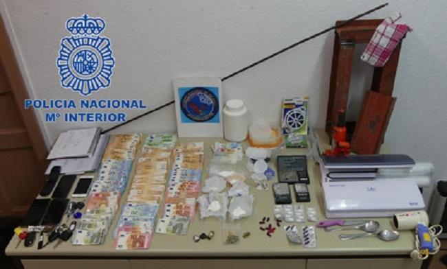 12 detenidos por la policía nacional en la operación 'Skate 2' contra el tráfico de drogas