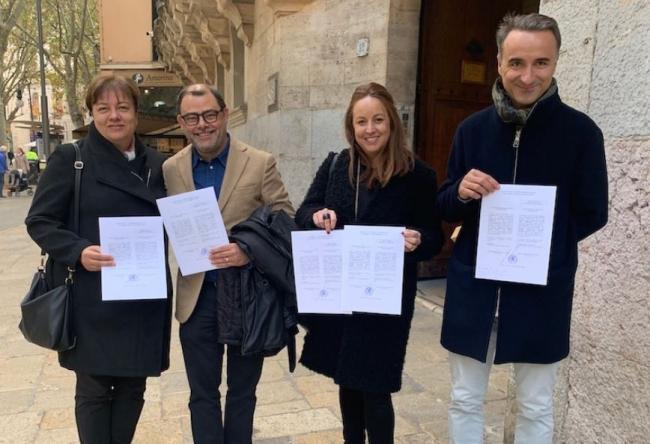 Los parlamentarios electos del PSIB-PSOE reciben las credenciales 'esperanzados con una investidura rápida'
