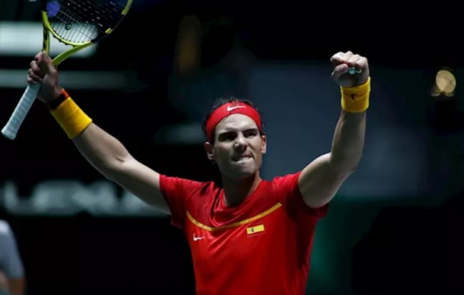 Nadal derrota a Borna Gojo y mete a España en cuartos de final de la Davis