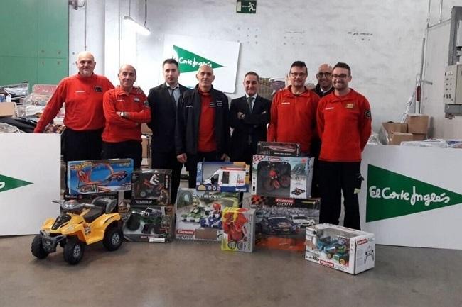 Los Bombers de Mallorca repartirán juguetes a los niños con necesidades estas Navidades