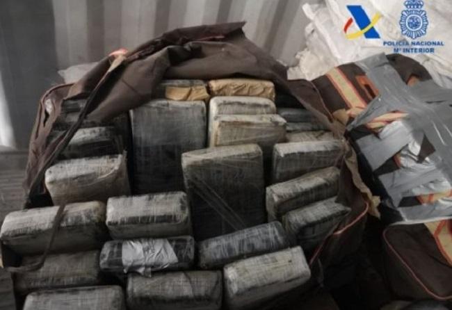 Incautados 426 kilos de cocaína en el interior de un contenedor del puerto de Valencia