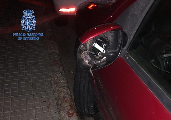 La Policía Nacional detiene a un varón por daños en multitud de vehículos
