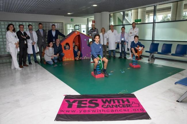 Son Espases instala un parque infantil en la sala de espera de radiología pediátrica