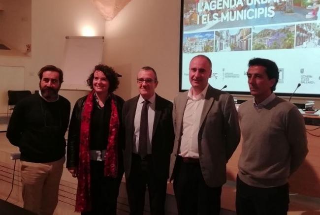 El vicepresidente Yllanes inaugura la jornada técnica sobre la agenda urbana y los municipios